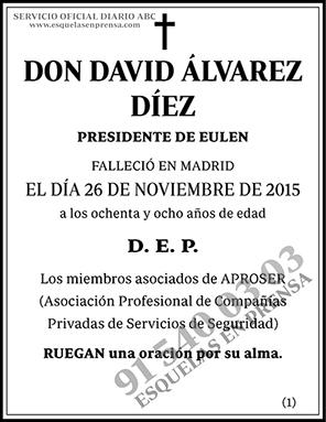 David Álvarez Díez